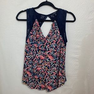 Colorful Patterned Lucky Brand Tank